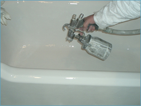 bathtub refinishing in  Alameda, Contra Costa, Marin, San Francisco, Millbrae, San Mateo, Santa Clara, Santa Cruz